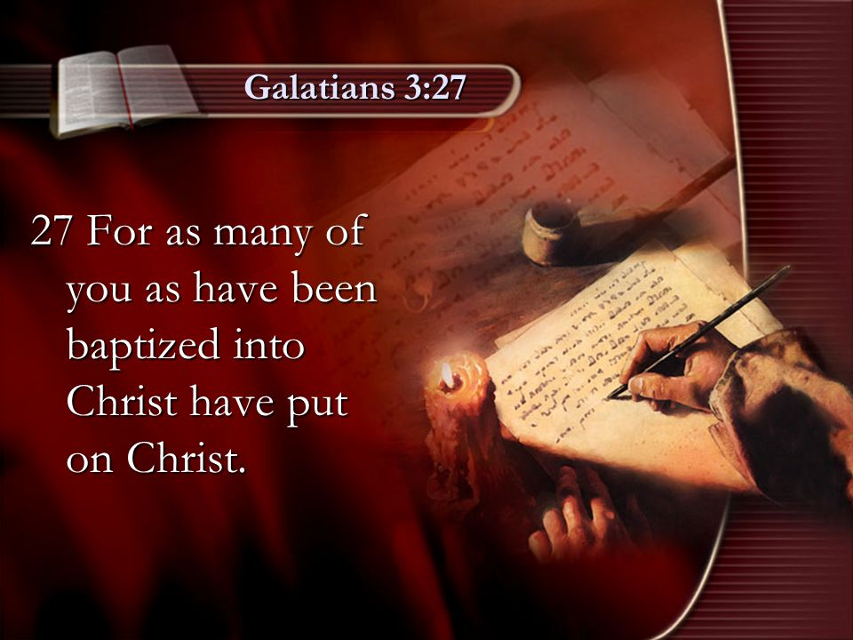 Ephesians 4:5 5 One Lord, one faith, one baptism,