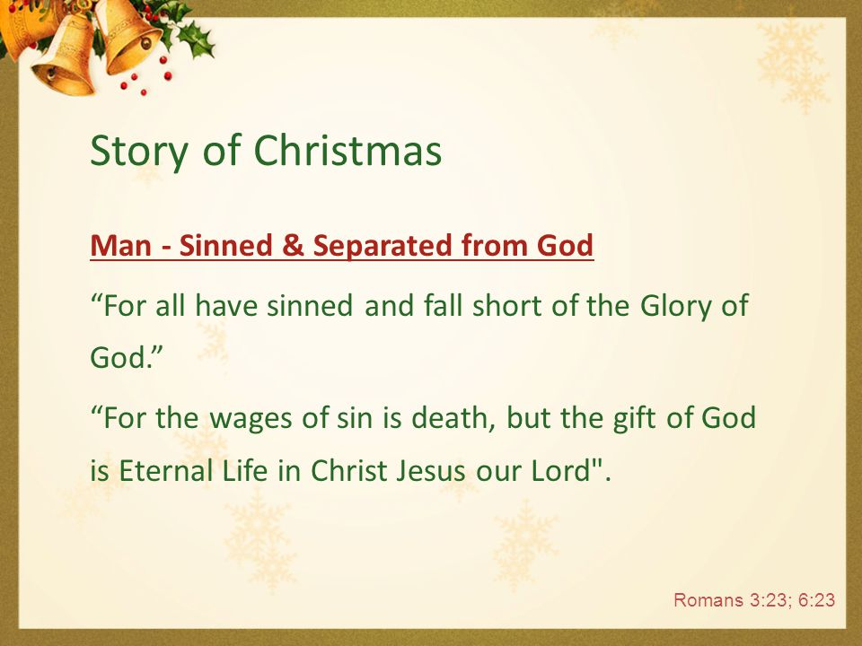 God - Loved Man.