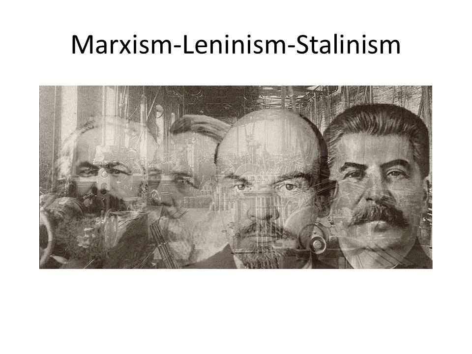 After Lenin's death and the ensuing power struggle that led to Stalin's rise to power, more changes were implemented to Marxism-Leninism Stalin argued that the base of society could only be altered by using a special superstructure He therefore introduced a command economy and five year plans in order to prepare the base.