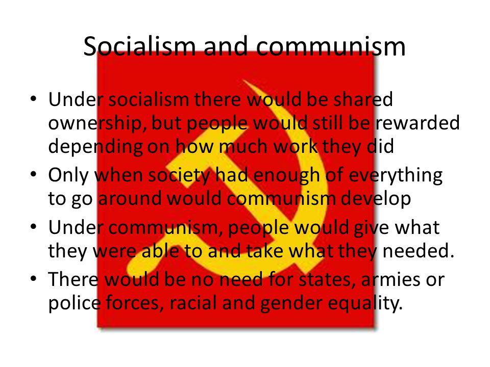 The Communist Manifesto (1847-8) 'Let the ruling classes tremble at a Communist revolution.