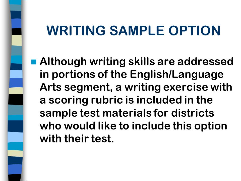HOW DISTRICTS CAN HELP QUALIFIED CANDIDATES SUCCEED ON A TEST Give candidates resource materials, including CODESP tutorial materials, to prepare for the test.