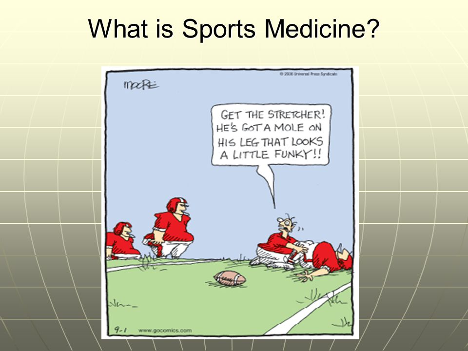 What is Athletic Training.