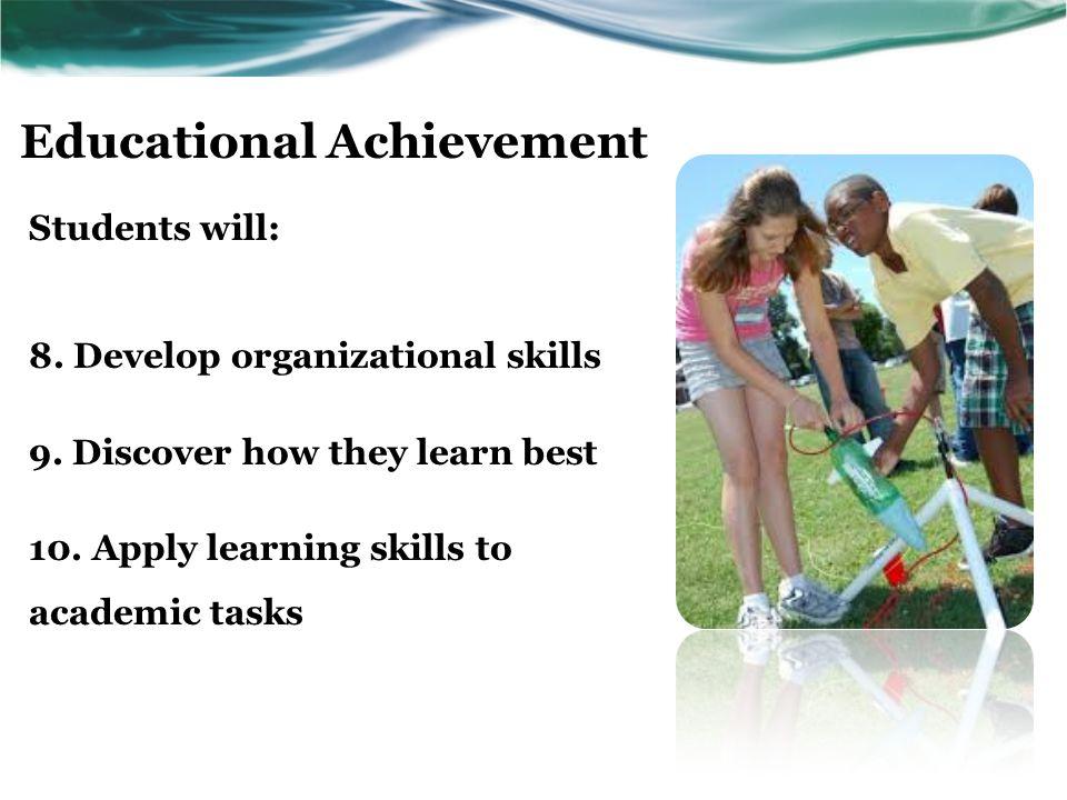 Career and Life Skills Students will: 11.Explore skills, interests, & aptitudes 12.