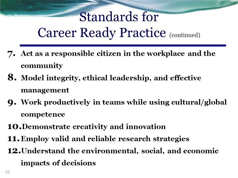 3.Develop an education and career plan aligned to personal goals.
