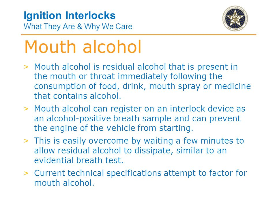 Ignition Interlocks What They Are & Why We Care > Generally, extreme temperatures have nominal effects on ignition interlocks.
