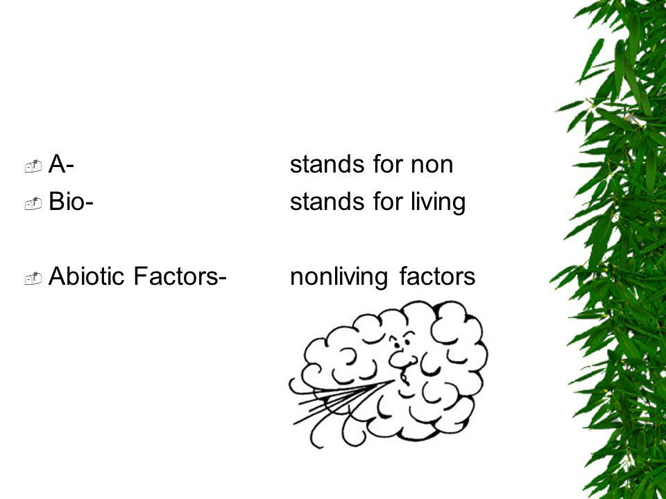 2. Biotic Factors: