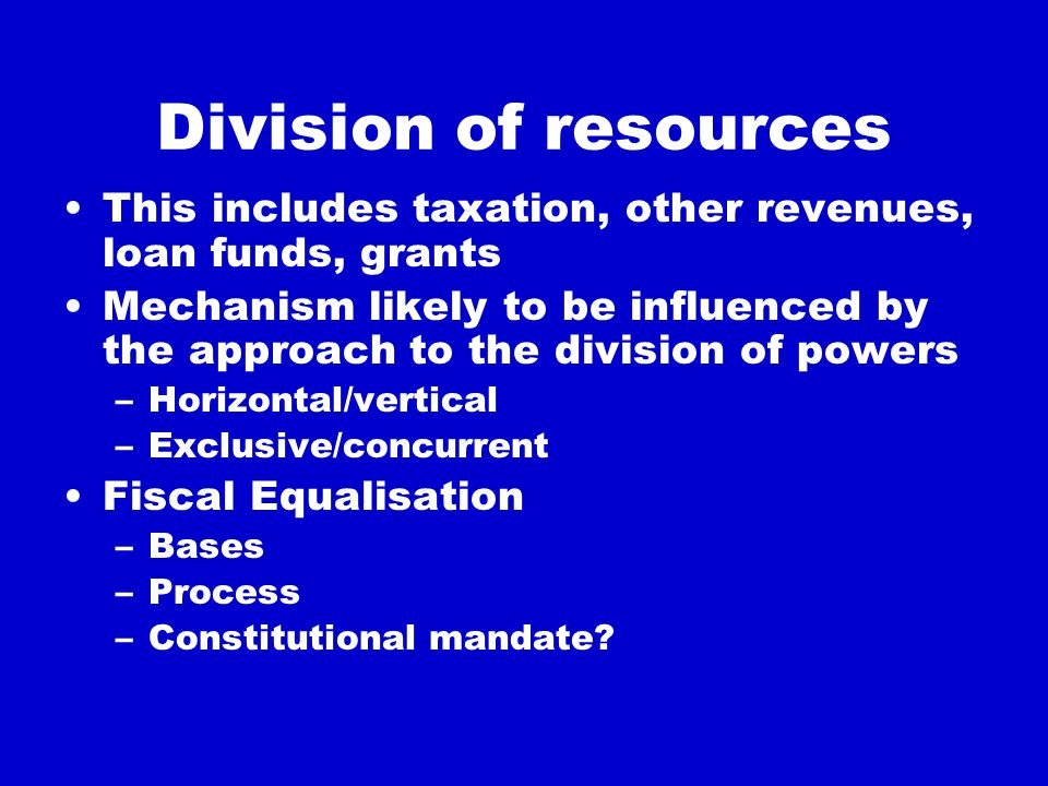 Challenges Each federation has a set of interlocking institutions with a structural logic of their own, through which the values of both federalism and constitutional government are met The operation of these institutions may be affected by the wider context Both logic and context need to be appre- ciated to understand another system (and to borrow from it)