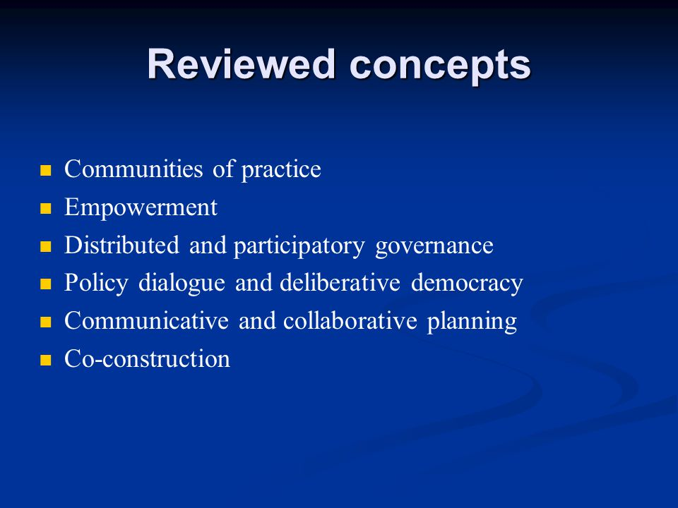 Communities of practice (CoP) What is it.CoP have always existed.
