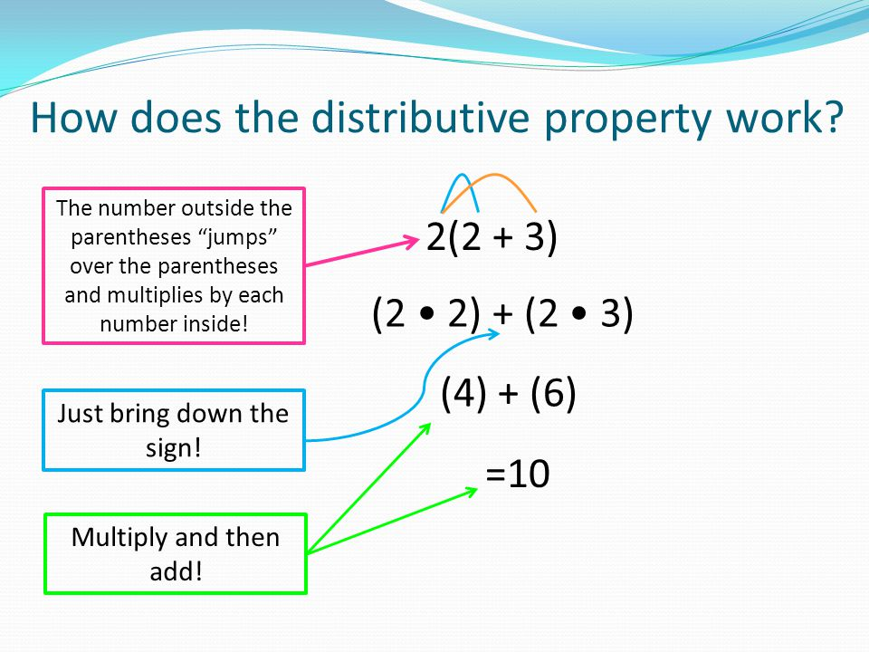 You can write a number or sum in distributive form… How can you write an expression equal to 33 + 77 using distributive form.
