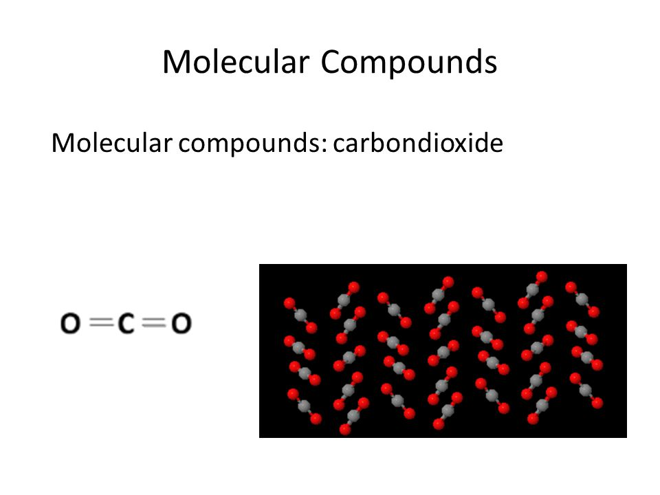 Covalent Compounds Network covalent compounds: A large number of atoms of different elements bonded by shared electrons.