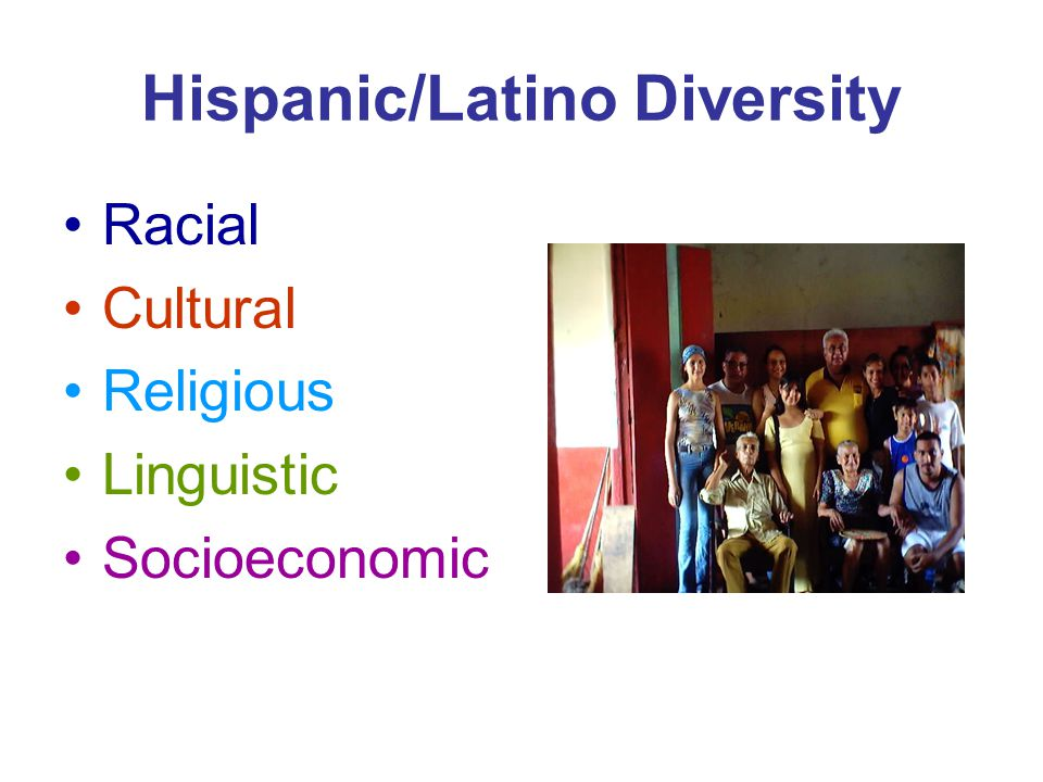 Hispanic/Latinos: Why are there so many different terms.