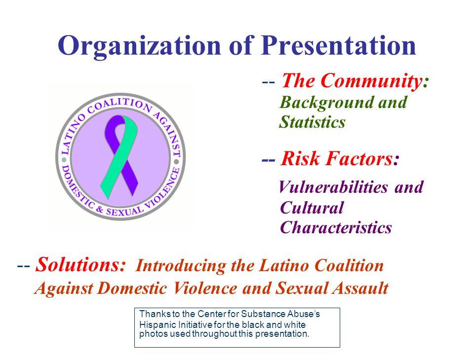 Part I: The Community Background & Statistical Indiana's Hispanic/Latino Population