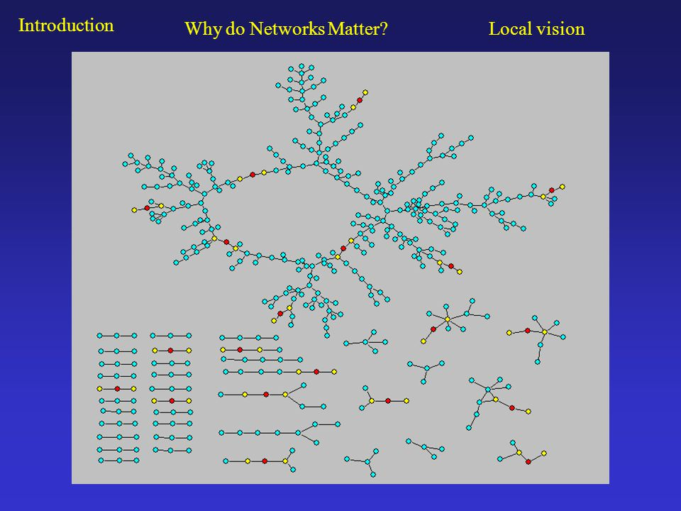 Social network analysis is: a set of relational methods for systematically understanding and identifying connections among actors.