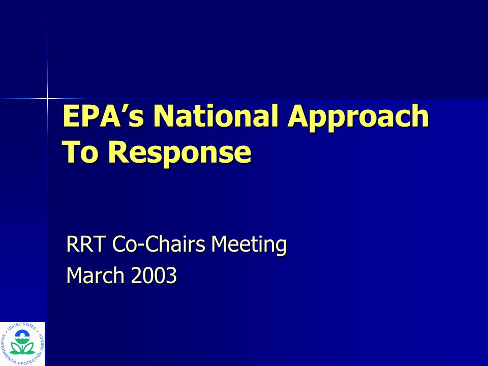 2 Overview Key IssuesKey Issues Nationally Significant Incident DefinitionNationally Significant Incident Definition Proposed EPA Model for National Incident CoordinationProposed EPA Model for National Incident Coordination – Organization and Roles and Responsibilities – Support