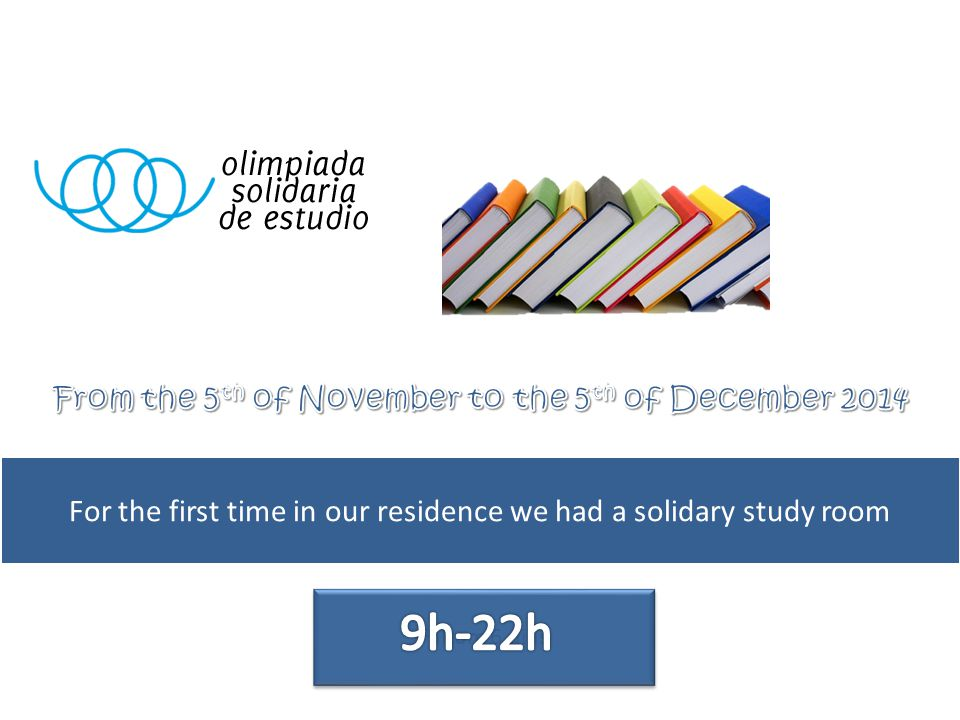 We asked the students for study hours and each hour is converted in 1€ by the organisation
