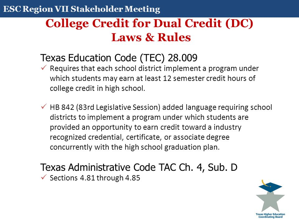 A Memorandum Of Understanding (MOU) or other written agreement must be in place that covers all aspects of DC program.