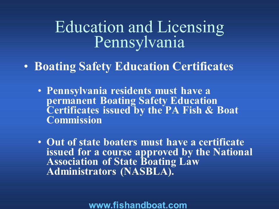 Classroom Courses Pa Fish & Boat Commission U.S.Coast Guard Auxiliary U.S.
