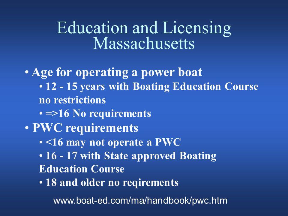 Classroom Courses Massachusetts Boating and RV Bureau U.S.
