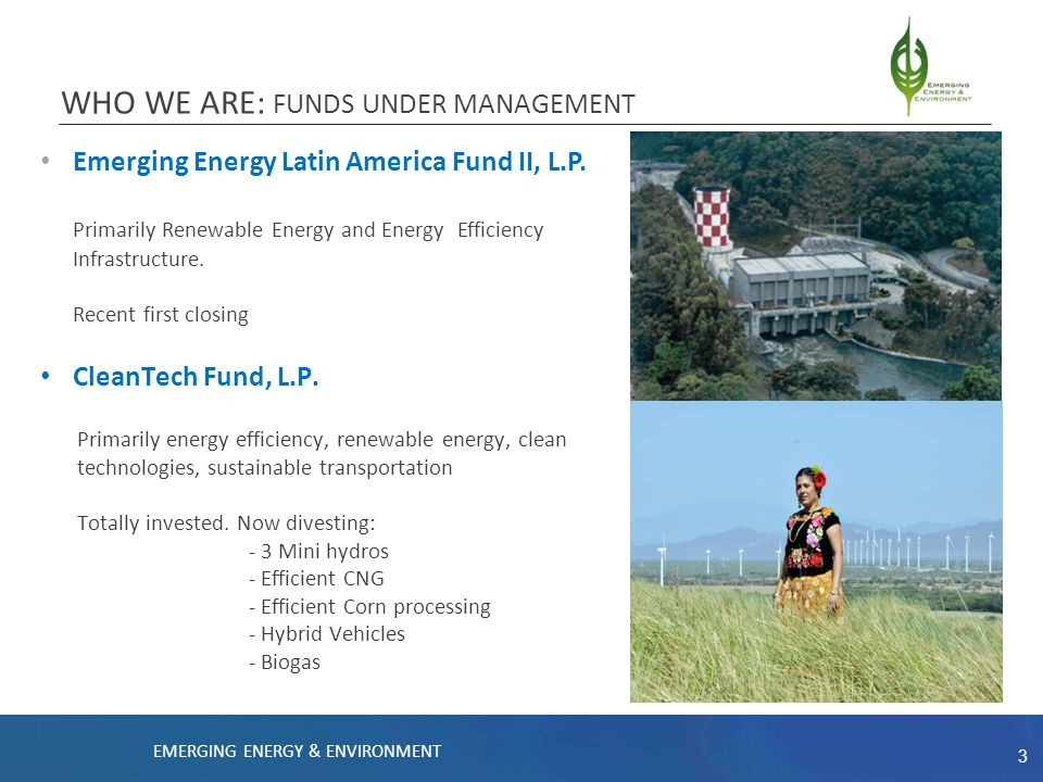 4 MARKET SUMMARY EMERGING ENERGY LATIN AMERICA FUND II Market Growth Potential CONFIDENTIAL – FOR PROFESSIONAL INVESTORS ONLY Hydropower Most countries in the region already use a good portion of their hydropower potential to generate electricity.
