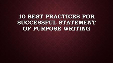 Successful practices in volunteer development essay