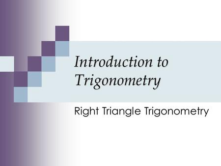 an introduction to the trigonometry We've been working part-time as a celebrity handler backstage at the grammys  you know: making coffee, running errands, listening to their existential crises.