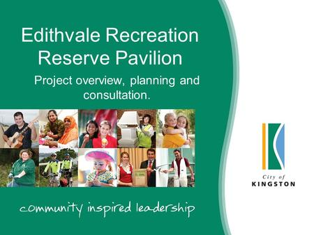 Edithvale Recreation Reserve Pavilion Project overview, planning and consultation.