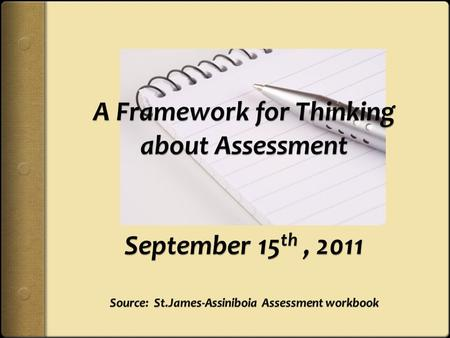 What do you think? The most effective method for assessing my students is to use a large end of unit test.