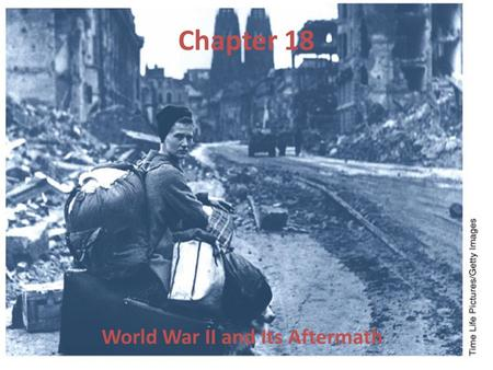 Chapter 18 World War II and Its Aftermath. Timeline Activity Study the timeline and answer the following: 1.What action did Italy take in 1935? 2.How.