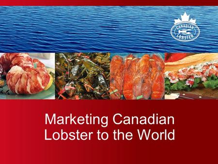 Marketing Canadian Lobster to the World. Prepared by Argyle Communications Inc. 2 Introduction: The Power of Generic Marketing.