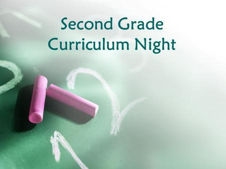 Second Grade Curriculum Night. EnVision Math Curriculum Each lesson has a math mat to go along with the lesson. The front side is done together in class.