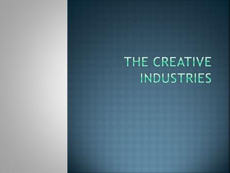 Identify the roles and opportunities available within an elected vocational area of the Creative Industries sector.
