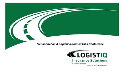 Transportation & Logistics Council 2016 Conference.
