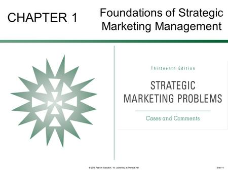 foundations of marketing chapter 1 the Marketing strategy is a long-term, forward-looking approach to planning with the  fundamental  at its most basic level, strategic marketing addresses three  deceptively simple questions: (1) where are  50-56 schaars, sp, marketing  strategy, the free press, 1998, [chapter 4 - 'a  jump up ^ foundations of  marketing.