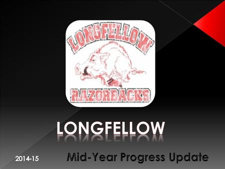Longfellow Student Attendance Longfellow's student population showed an increase in 2012. Our current enrollment today is 401 students.