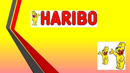 THE NAME HARIBO HANS RIEGEL BONN Company that produces candy