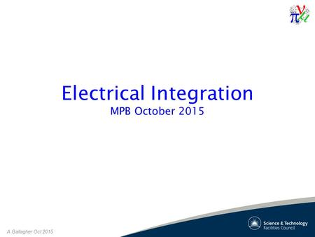 A Gallagher Oct 2015 Electrical Integration MPB October 2015.