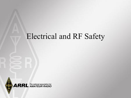 Electrical and RF Safety. Electrical Safety Generators Generators convert mechanical energy to electrical energy. They actually consist of two devices: