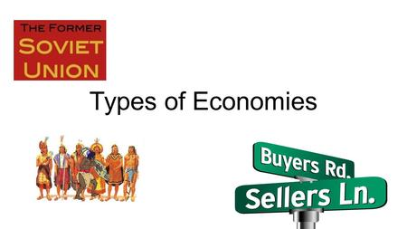 Types of Economies. Market Economy What is a 'Market Economy' A market economy is an economic system in which economic decisions and the pricing of goods.