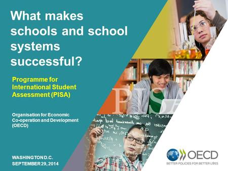 OECD EMPLOYER BRAND Playbook 1 What makes schools and school systems successful? Programme for International Student Assessment (PISA) Organisation for.