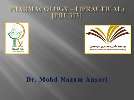 Dr. Mohd Nazam Ansari Nervous System which consists of is divided into that make up which is divided into The Nervous System Sensory nerves (Afferent.