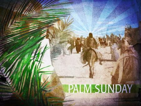 The Triumphal Entry Luke 19-28-40 28 After Jesus had said this, he went on ahead, going up to Jerusalem. 29 As he approached Bethphage and Bethany at.