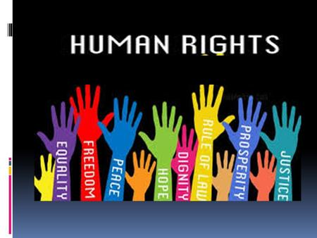 Human Rights Defined Human rights are generally defined as those rights, which are inherent in our nature, and without which, we cannot live as human.