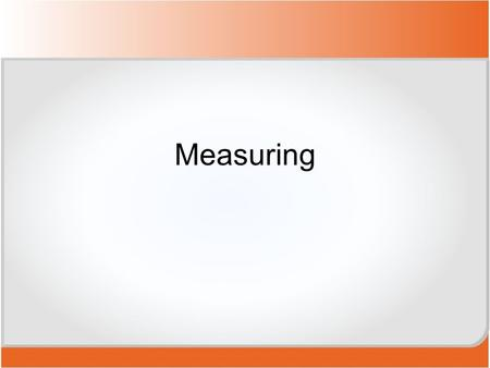 Measuring. Abbreviations These abbreviations are often used in recipes to indicate the amounts of ingredients required.  What abbreviations might appear.