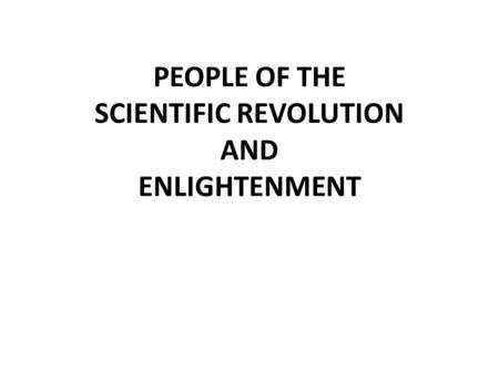 Enlightenment and Revolution - ppt video online download