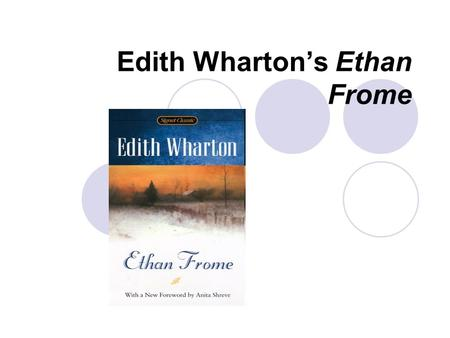 ethan frome essay topics
