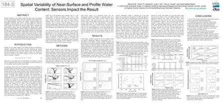 soil moisture measurement methods pdf