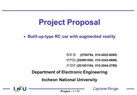 capstone proposal modified Capstone project proposal guide  this guide  is meant as an aid in gathering the information needed to describe a capstone project  last modified by:.