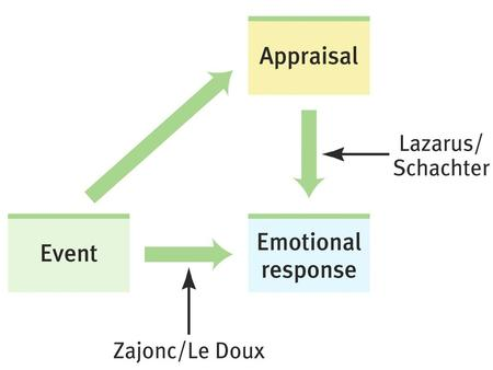To sum up: Arousal fuels emotion Cognition channels it.