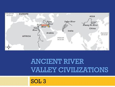 ANCIENT RIVER VALLEY CIVILIZATIONS SOL 3. River Valley Civilizations emerge…  During the New Stone Age (Neolithic), permanent settlements appeared in.