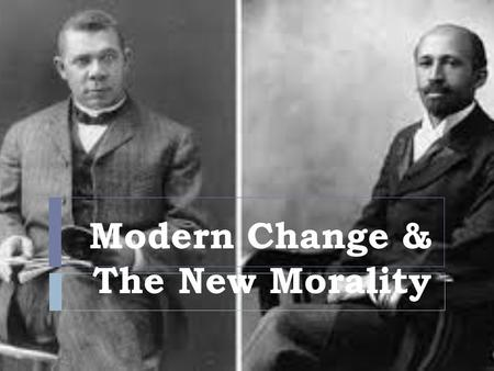 "Modern Change & The New Morality. ""Radical Ideas""  1. Henry George :writes that, ""as population grows, the property value of the owners will increase."